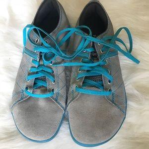 43ee2b450ff0 Reebok Shoes - Reebok CrossFit Deadlift Shoes Size 8 Gray   Teal